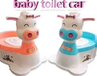 BABY TOILET CAR