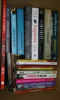Imported books & buku terjemahan