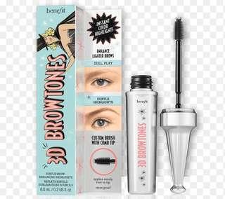 3D Browtones brow gel- Benefit Cosmetics