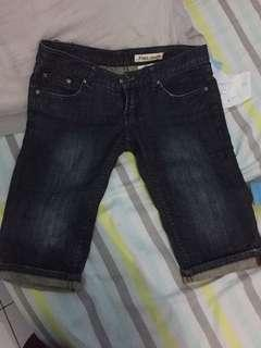 Celana selutut jeans 50 only
