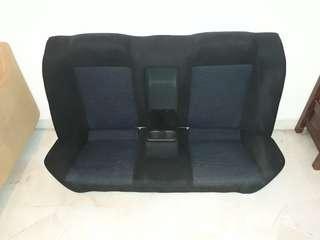 EVO 7 Rear Seat