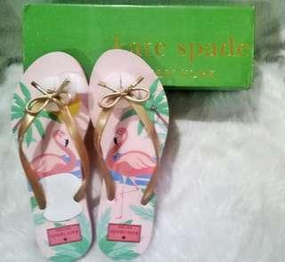 AUTHENTIC KATE SPADE SLIPPERS SIZE 10 WITH BOX
