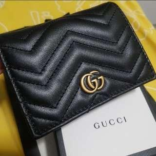 Brand New Gucci GG Marmont card case / wallet 銀包