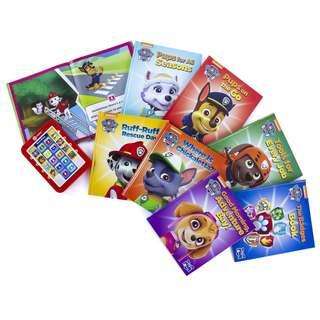 Paw patrol - Electronic Reader and 8 book Library