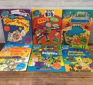 Age 5+ Scholastic The Wonderful World of Simon Abbott - 6 Books