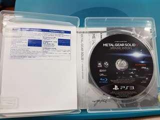 PS3 METAL GEAR SOLID V