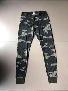 迷彩珠地內撘褲leggings 99%new
