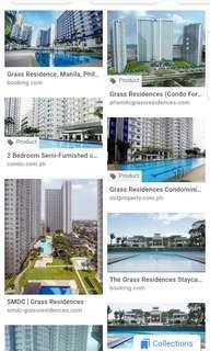Parking slot for rent @ The Grass residences condominium