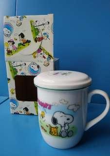 Snoopy 有蓋杯