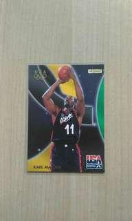 Karl Malone USA Card