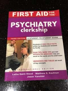 For MEDICAL STUDENTS - psychiatry textbook