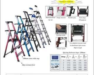 Aluminium Heavy Duty Platform Ladder