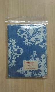 Flower mark Passport Holder