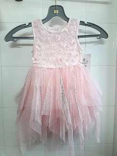 Pink Party Lace Dress