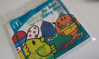 Mr. Men rainy day little miss small book - Including Normal Mailing