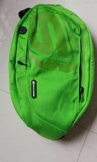 Brand new lime green sling bag