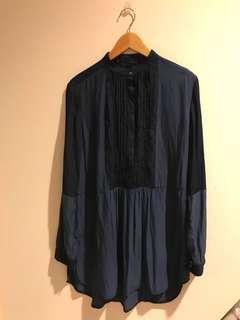 Blue Shades Long Shirt