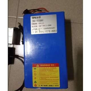 5 months old Battery 36v