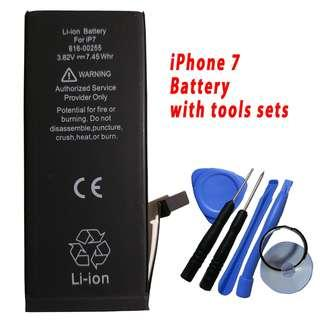Apple iPhone 7 Battery 1960mAh 616-0249 with Tools Sets