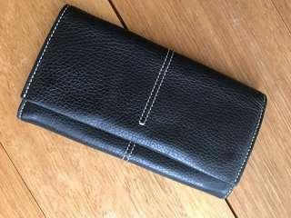 Tod's Leather Black Wallet