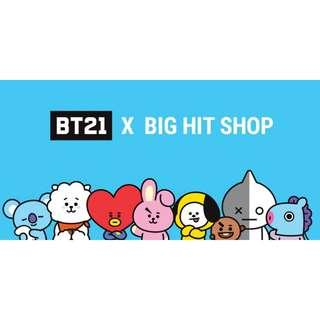 <INFO> BT21 at BigHitShop! #GO #DIRECTSHIPPING