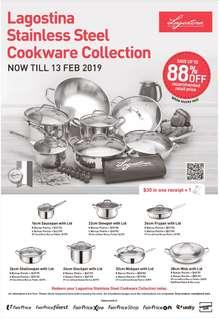 NTUC Bonus Points for Redemption of Lagostina Cookware
