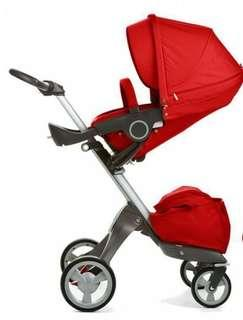 Stokke Xplory v4 Red