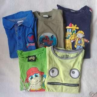 Set of Pambahay Clothes for Toddler, 4T
