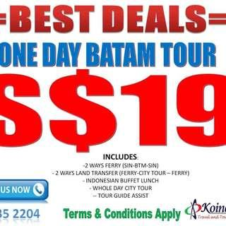 ONE DAY BATAM PROMOTIONS!