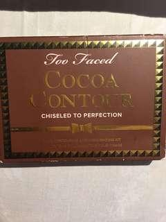 🚚 Too faced cocoa 四色修容
