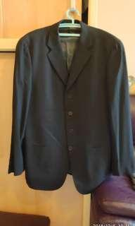 G.ARMANI黑色西裝外套