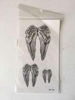 Winged Fake Tattoos