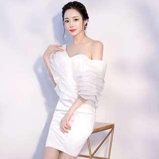 White Dress for party and dinner