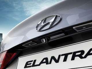 Hyundai Elantra reverse camera
