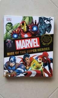 """Marvel lover's collection: """" Rise of the super heroes~icon covers characters & the storylines from the last 30 years"""""""