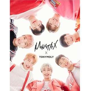 [Pre-order] MONSTA X | TONYMOLY COLLABORATION OFFICIAL GOODS