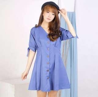 Celice Button Dress