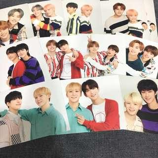 OFFICIAL SEVENTEEN IDEAL CUT IN JAPAN TRADING CARDS | Pairing