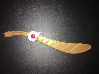 Mencari pedang dx tiger zord mmpr power rangers
