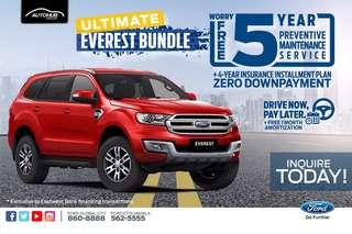 Grab yours 5 years insurance plus 5 years service maintenance