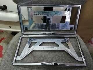 Japan mazda plate frame holder