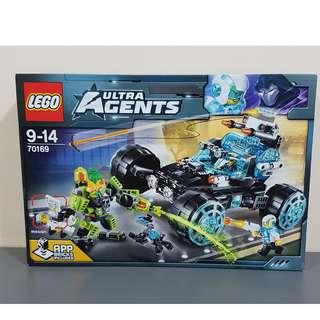 Lego 70169 Ultra Agents Agent Stealth Patrol Brand New MISB Minor Crease