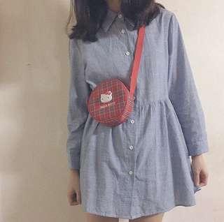 🚚 日系簡約洋裝