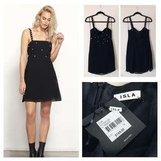 "[NEW - BNWT] - ISLA ""Raw Power Mini Dress"" - SIZE M"