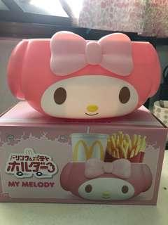 My Melody Food Container(Mc Donald's)