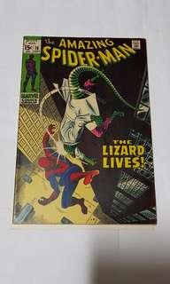 AMAZING SPIDER-MAN (VOL 1) 76 VS Lizard