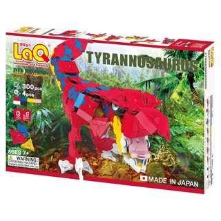 LaQ Dinosaur World Tyrannosaurus Rex Build Kit