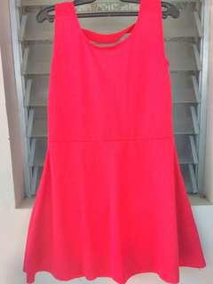 Red Dress can fit S-M