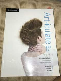 Art-iculate textbook vce 1/2 and 3/4