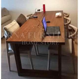 Elroy elm Wood Dinning Table/Custom orders